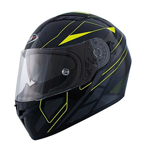 Shiro casco, Elite amarillo fluo, tamaño L