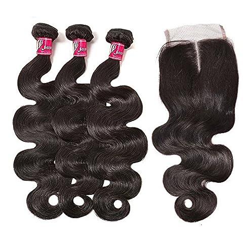 SAOMAI 100% Virgin Brazilian Weave Remy Human hair for Cheap