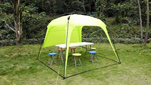 Pavillon Robust Set : Lumaland outdoor pavillon gartenzelt camping partyzelt zelt robust