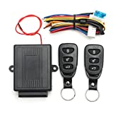 Generic Universal Car Keyless Entry System Central Door Lock Locking Remote Control Kit
