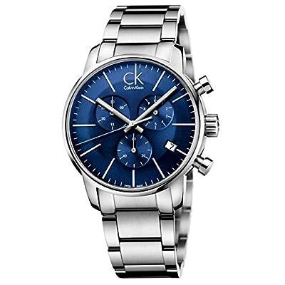 Calvin Klein Reloj de Cuarzo para Hombre con Correa de Acero Inoxidable Chapado – K2G2714N de Calvin Klein