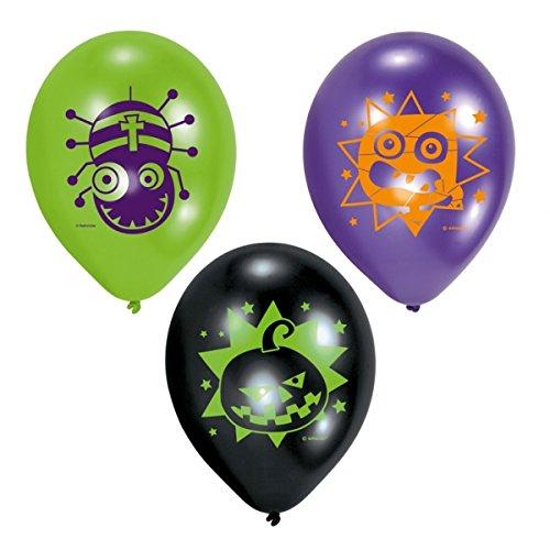 """Preisvergleich Produktbild Luftballons """"Freaky Monster Show"""" 6er Pack"""