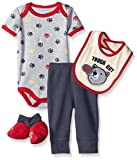 BON BEBE Boys' 4 Piece Pant Set with Bod...