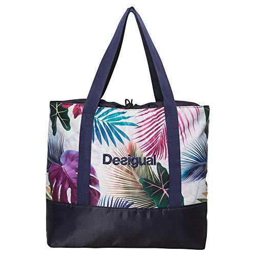 Desigual Bio Patching Shopping Bag Blanco