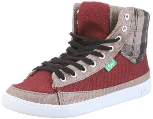 Keep Guerra Boot KP011AU11 Unisex - Erwachsene Sneaker Rot/maroon linen plaid
