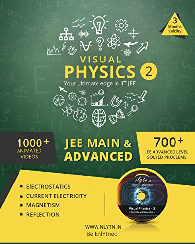 Nlytn Visual Physics II for IIT JEE - Learn Concepts & Clear Doubts of JEE Physics in 3 Months (DVD)