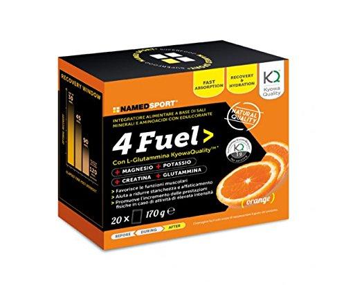 4 Fuel Sport - Named - Integratore alimentare a base di Sali Minerali e Aminoacidi con Edulcorante - 51wzTyeHBCL