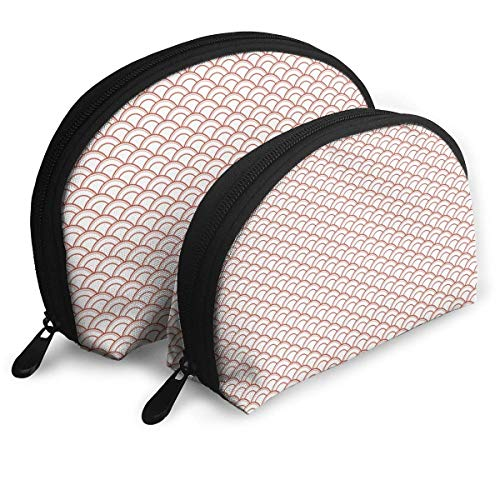 Portable Shell Makeup Storage Bags Simple Clouds Pattern Travel Waterproof Toiletry Organizer Clutch Pouch for Women - Barbie Holiday Angel