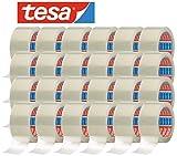 tesa 64014 Klebeband / Paketband 66 m x 50 mm, farblos (24 Rollen)