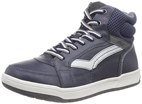 s.Oliver 46102, Jungen Hohe Sneakers, Blau (Navy 805), 38 EU (5 Kinder UK)