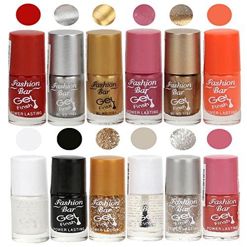 Neon Red,Silver,Golden,Shimmer Pink,Copper,Neon OrangeWhite,black,Glitter Golden,Transperent,Glitter Silver,Pink Nail polish