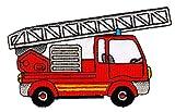 Patch Feuerwehr Leiterwagen Aufnähe...