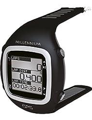 GPS-Sportuhr mit Soft-Brustgurt und Herzfrequenzmessung (schwarz/grau)