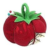 Edles Nadelkissen Tomate rot mit Büsten - der besondere Blickfang