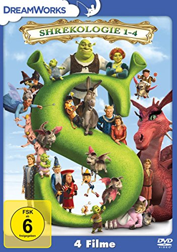 Shrekologie 1-4 [4 DVDs]