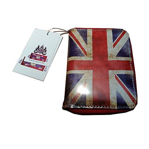 Alla moda portamonete con zip Londra British