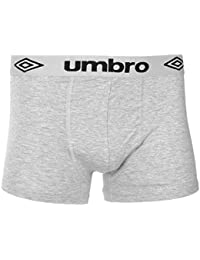 Homme Umbro Coton Extensible Riche Caleçon Boxer Ajusté Short Sous-vêtement Taille
