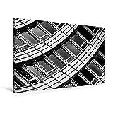 Premium Textil-Leinwand 90 cm x 60 cm quer, Zürich, WTC   Wandbild, Bild auf Keilrahmen, Fertigbild...