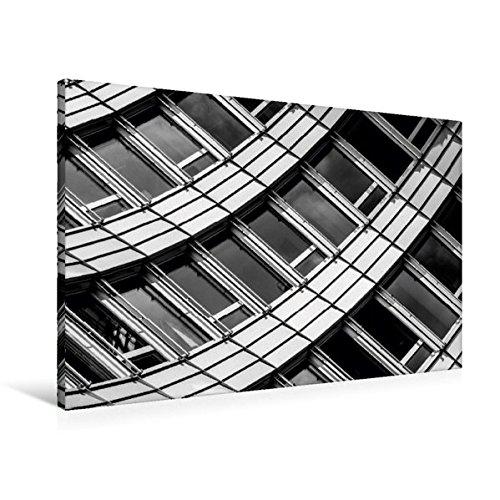 Premium Textil-Leinwand 90 cm x 60 cm quer, Zürich, WTC | Wandbild, Bild auf Keilrahmen, Fertigbild...