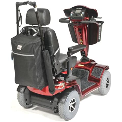 Simplantex - Borsa per stampelle o bastone da passeggio da agganciare a sedia a rotelle elettrica. - Rotelle Elettrica