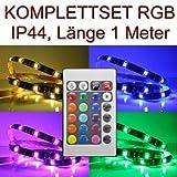 SET LED Streifen RGB 1 m wasserdicht + Trafo & Controller PCBs