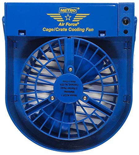 Purfect Pet Products Cage Cooling Fan for Dog, Cat, Rabbit, Guinea Pig Cages