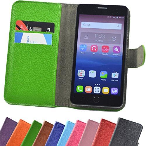 ikracase Elephone P8 Mini 5.0 Zoll Smartphone/Slide Kleber Hülle Case Cover Schutz Cover Etui Handyhülle Schutzhülle YT in Grün