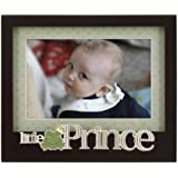 Malden International Designs Baby Memories Little Prince Black Wood Picture Frame, 4x6, Black By Malden International Designs