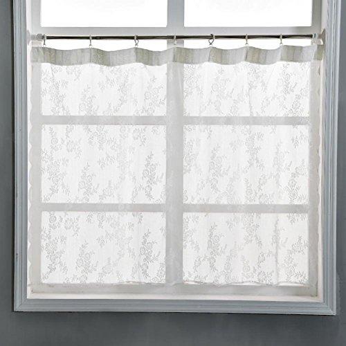 Everpert Fenster Gardine Spitze Garn Tüll Schlafzimmer Home Decor Party Supplies 1 x 1,5 m