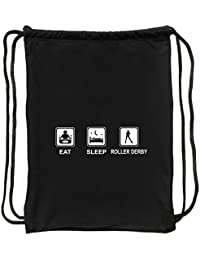 Eddany Eat sleep Roller Derby Bolsa deportiva