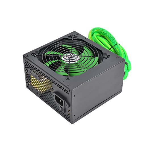 L-Link LL-PS-650 - Fuente de alimentación (650 W, ATX, 5 A), Negro