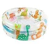 Aufblasbare Kinder Schwimmbäder,Family Kinderpool Badewanne Cartoon Dinosaurier PVC Runde Baby...