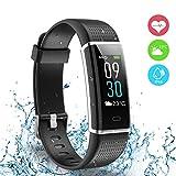 Fitness Tracker, Ausun 130 Plus Farbe Touchscreen Schrittzähler Uhr, TFT LCD Einstellbare...