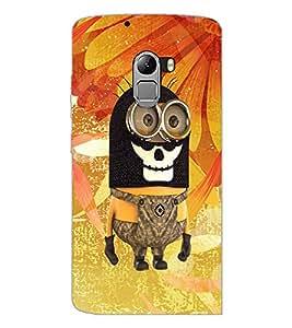 PrintDhaba Funny Image D-4159 Back Case Cover for LENOVO VIBE X3 c78 (Multi-Coloured)