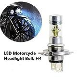 FEZZ 1500LM Extrem helle Motorrad LED Scheinwerfer Lampe Hi Lo Beam H4 HS1 9003 HB2 100W Weiß für Yamaha Suzuki Kawasaki