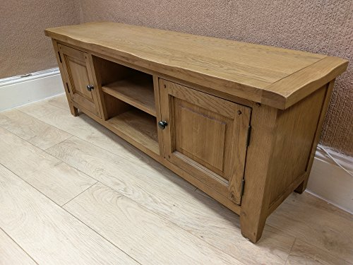 Westminster Rustic Oak Large TV Unit