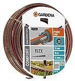 Gardena 18031-20 Schlauch Comfort FLEX, Mit Power Grip Profil und Hochwertiges Spiralgewebe (Schlauchlänge: 15m, Schlauchdurchmesser: 13mm, Berstdruck: 25 bar, ohne Schlauchstück)