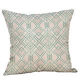 ABsoar Geometrische Gedruckte Baumwolle Leinen Dekokissen Cases Sofa Kissenbezug Home Decor Taille Kissen Pillow Covers