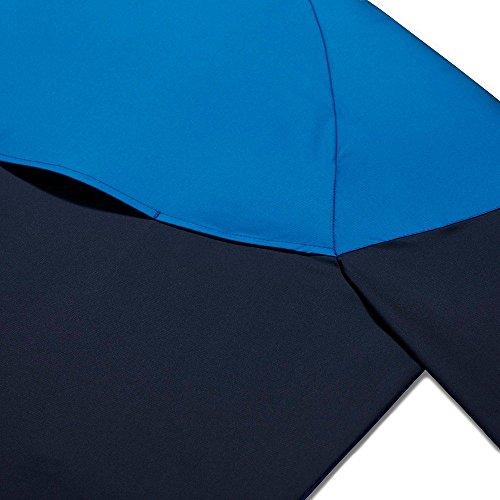 NIKE Herren Jacke Windrunner blau / weiß