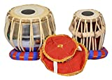 S.A Trading Company ABC104 IronTabla with sheesham wood dayan , comes with hammer and a free carry bag