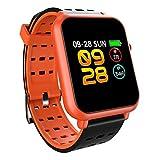 TLfyajJ Smartwatch Impermeabile Orologio Fitness Cardiofrequenzimetro da Polso...