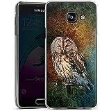 Samsung Galaxy A3 (2016) Housse Étui Protection Coque Hibou Hibou Forêt