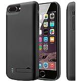 iPhone 8 Plus Akku Hülle / iPhone 7 Plus Akku Hülle Batteriehalter mit hoher Kapazität [Lightning...