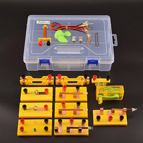 Physikalische elektromagnetische Experiment Model Kits Astarye elektrische Entdeckung pädagogische DIY Spielzeug Student Geschenk - Experiment Glühbirne