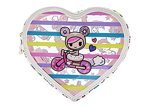 Tokidoki Denim Daze Kosmetiktasche, transparent -