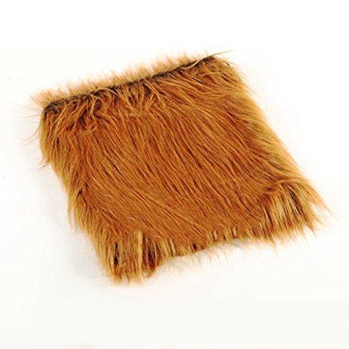 (Steellwingsf Perückenkappe, Löwen-Perücke, Haustierkostüm für Hunde, Haustiere, Festival, Kostüm, Perücke)