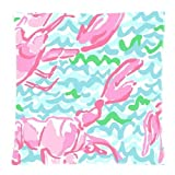 VTXWL Lilly Pulitzer Custom Zippered Pillow Case Cover Cushion Case 18x18 inch (Two Sides)