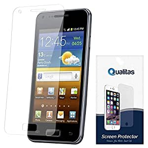 Qualitas Ultra Clear Pack of 5 Anti-Glare Anti-Scratch Anti-Fingerprint Screen Protector for Intex Aqua Life II