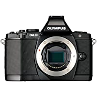 Olympus OM-D EM-5 Micro Four Thirds Interchangeable Lens Camera - Black (Body Only)