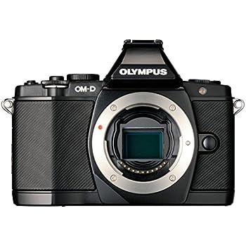 Olympus OM-D EM-5 Fotocamera Mirrorless Professionale, LiveMOS 16 MP, Corpo Macchina, Nero